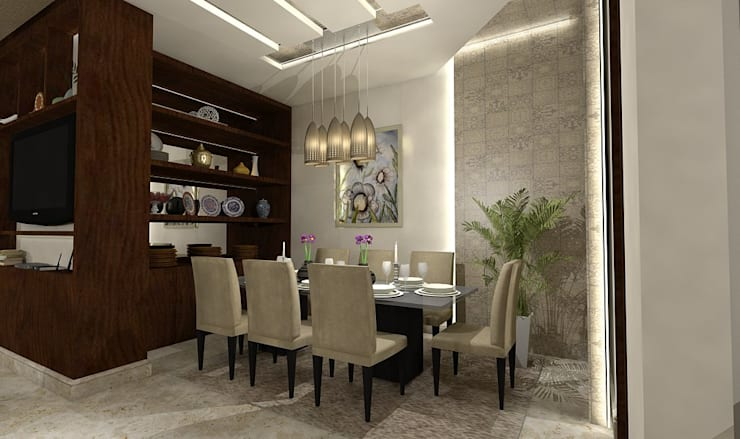 modern Dining room by Ain Designs Studio