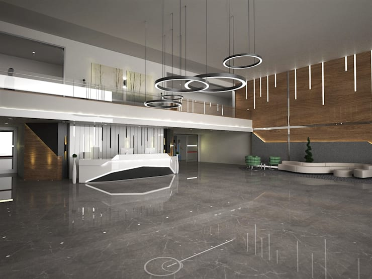 Dinding oleh Murat Aksel Architecture, Modern Marmer