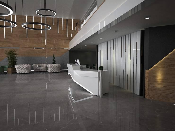 Dinding oleh Murat Aksel Architecture, Modern Granit