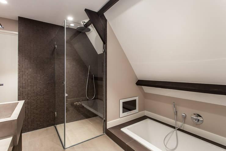Betonlook Badkamer Maken : Zo voeg je die mooie betonlook toe aan je badkamer
