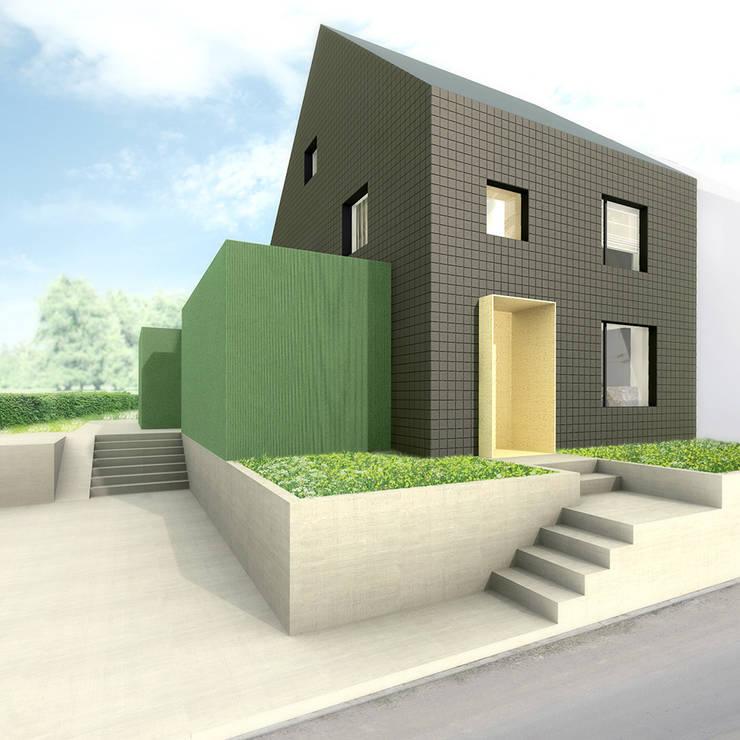 Voorgevel:  Huizen door De Nieuwe Context
