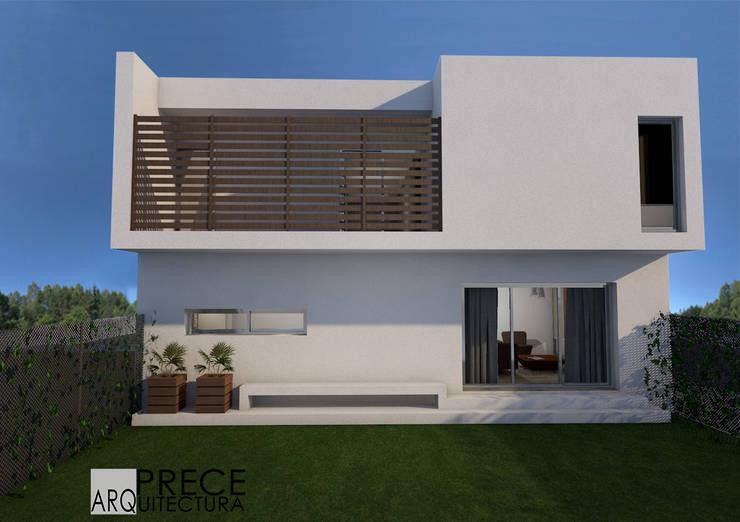 Contrafachada:  de estilo  por Prece Arquitectura