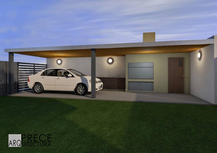Quincho/Garage:  de estilo  por Prece Arquitectura