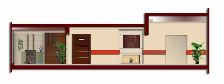 تصميم لمركز تشخيصي في المعادي:   تنفيذ Ain Designs Studio