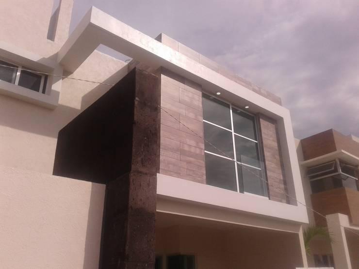 CASA DALI: Casas de estilo  por Diseño Aplicado Avanzado de Guadalajara