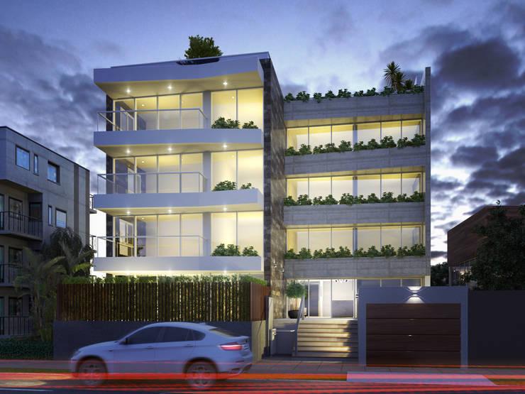 Multifamiliar - San Borja :  de estilo  por FABRE STUDIO