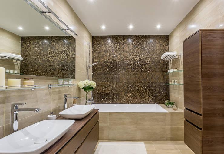 Projekty,  Łazienka zaprojektowane przez Alexander Krivov