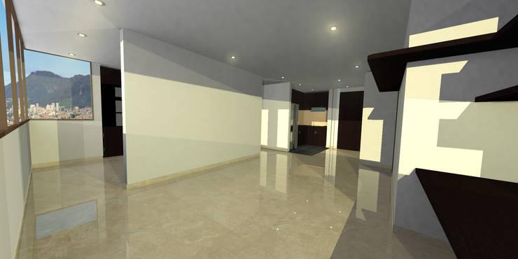apartment 039: Salas de estilo  por origini