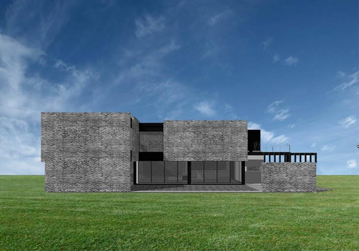 Vivienda GS: Casas de estilo  por Proyectarq
