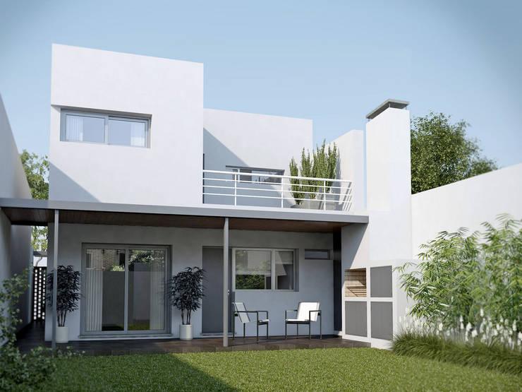 Rumah oleh Proyectarq , Modern