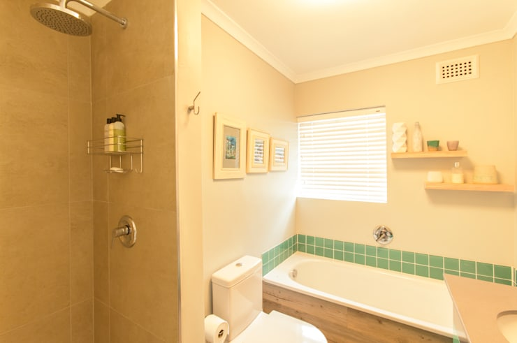House B—House Design :  Bathroom by Redesign Interiors