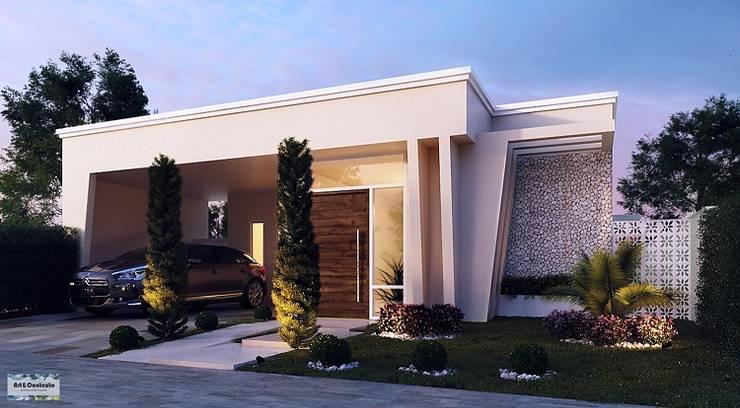 Casas de estilo  por Art&Contexto Arquitetura
