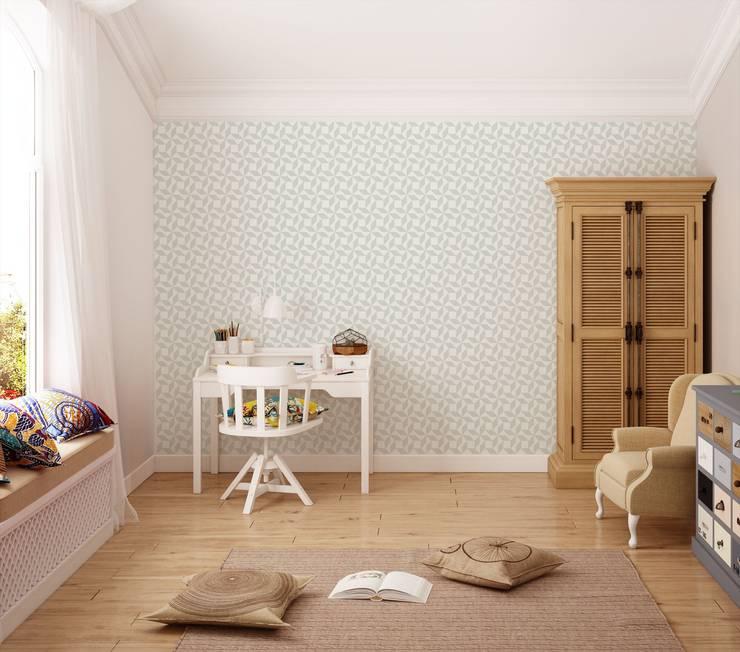 Tapeta dla dzieci Paper Windmill: styl , w kategorii Ściany i podłogi zaprojektowany przez Humpty Dumpty Room Decoration