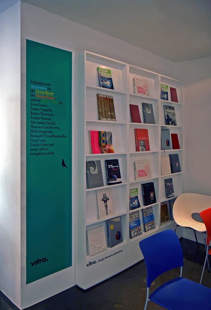 VITRA SEOUL SHOWROOM: HJL STUDIO의  서재 & 사무실