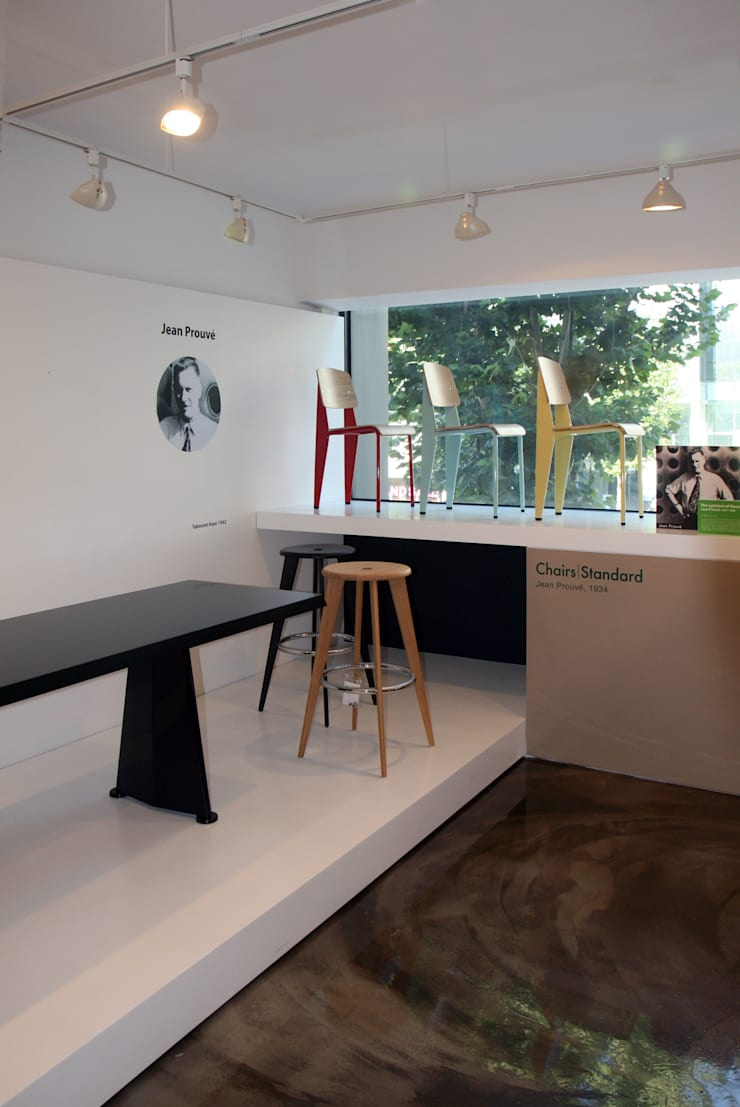 VITRA SEOUL SHOWROOM: HJL STUDIO의  방