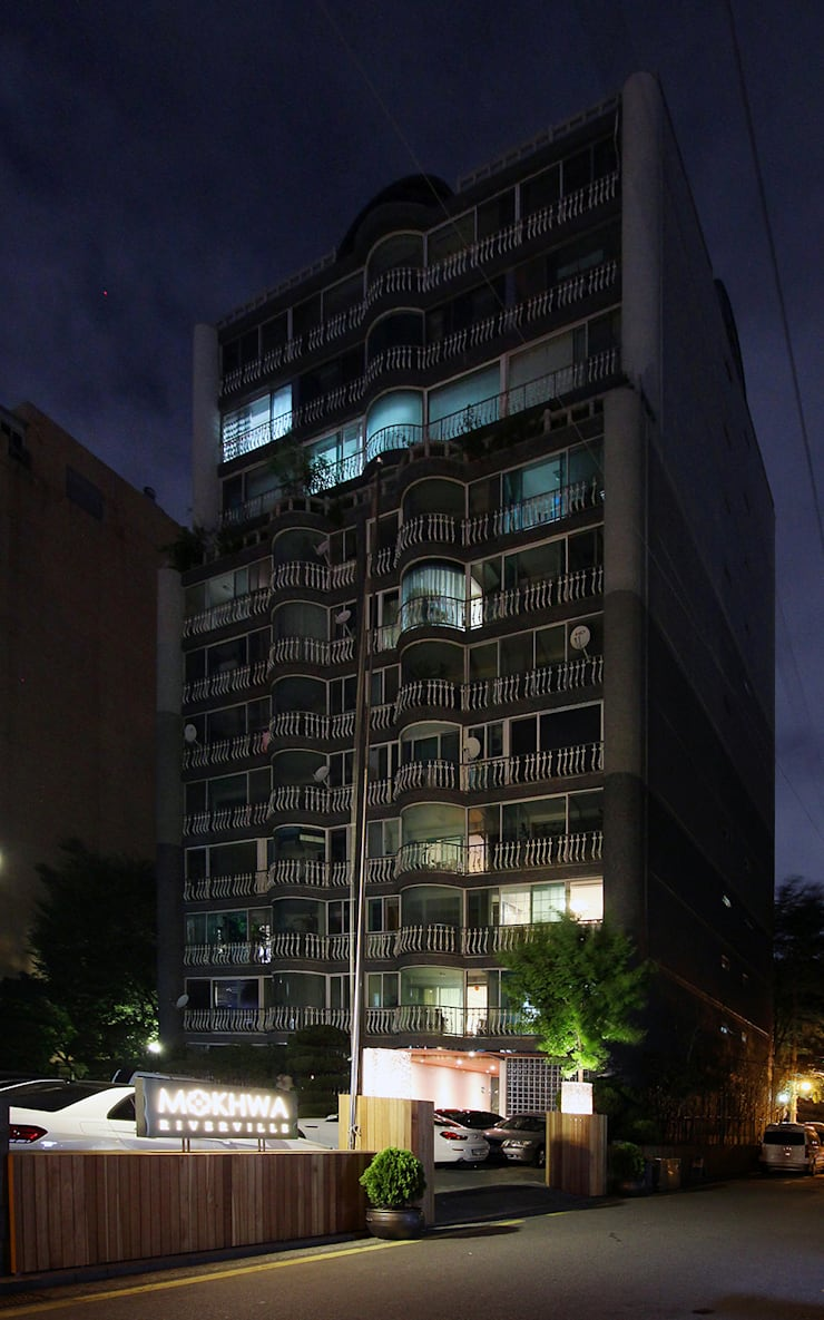 CHUNGDAM MOKHWA RIVERVILLE : HJL STUDIO의  주택