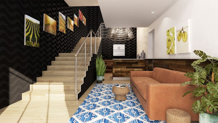 Meridian CPT:  Office buildings by oooh inspired design, Modern