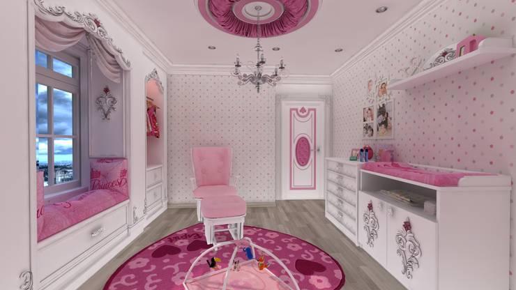 Altuncu İç Mimari Dekorasyon – Bebek Odası:  tarz Çocuk Odası
