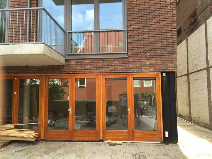Nieuwbouw appartementen:  Gang en hal door MSW Bouwadvies