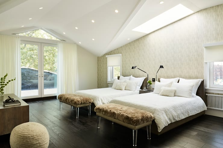 Carroll Street: modern Bedroom by M Monroe Design