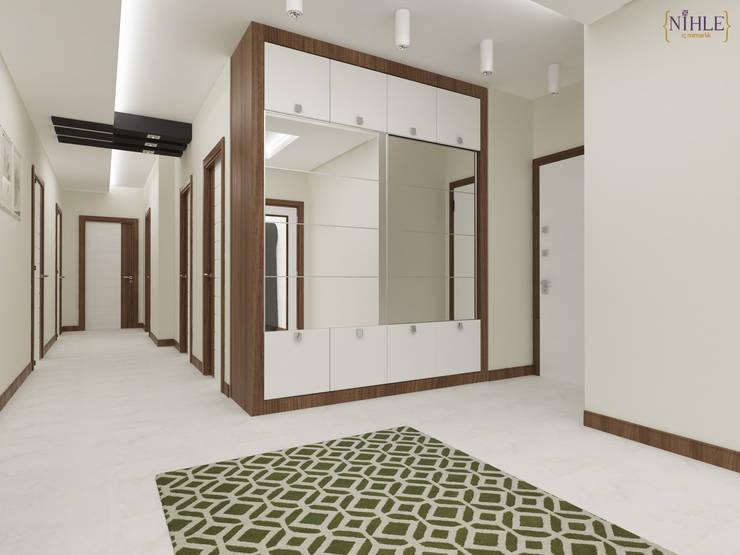 Corridor & hallway by nihle iç mimarlık