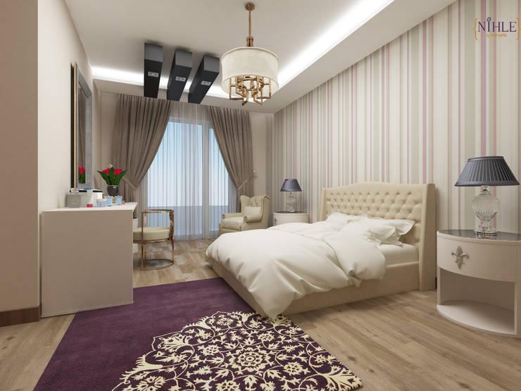 غرفة نوم تنفيذ nihle iç mimarlık