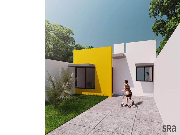 Casa Ana: Casas de estilo  por SRA arquitectos