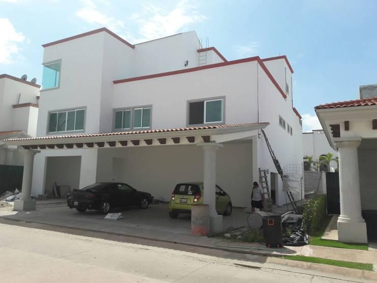 Obra Terminada: Casas de estilo  por Cerberus Integral Solutions Corporate