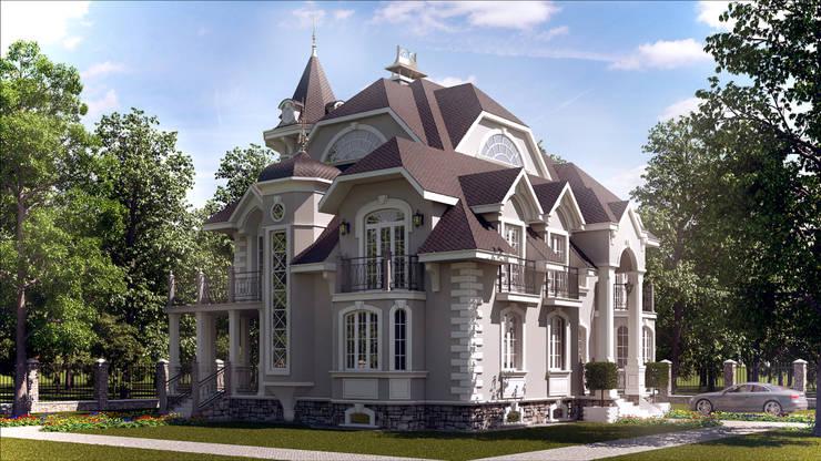 Проект дома: Дома в . Автор – Архитектурная мастерская Бориса Коломейченко