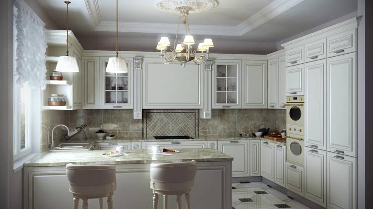 кухня: Кухни в . Автор – Архитектурная мастерская Бориса Коломейченко
