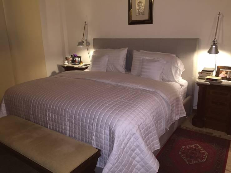 Dormitorio Acarigua.: Cuartos de estilo moderno por THE muebles