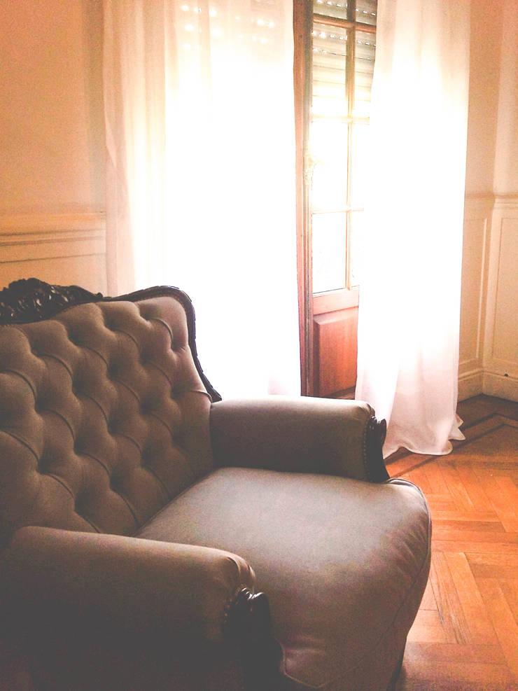 DECORACION – Trabajos integrales: Livings de estilo  por PLATZ