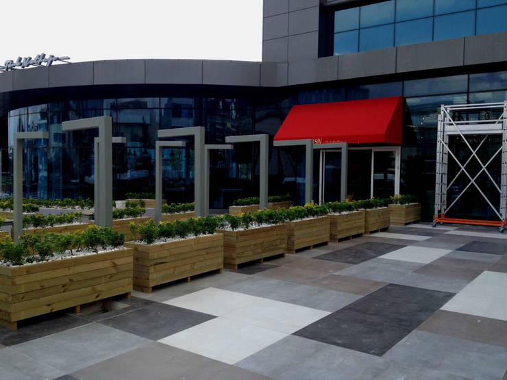 AYTÜL TEMİZ LANDSCAPE DESIGN – ARŞİV TÜRK MUTFAĞI PEYZAJ UYGULAMA // ARSIV TURKISH CUISINE LANDSCAPE APPLICATIONS:  tarz Bahçe, Modern