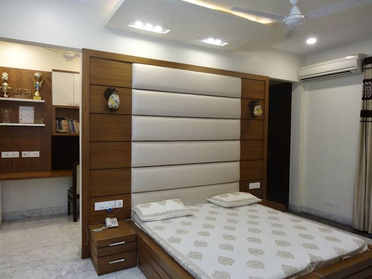 Residence at Meerut: modern Bedroom by Ar. Sandeep Jain
