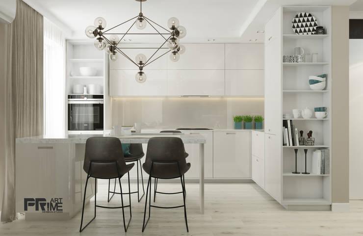 minimalistische Keuken door 'PRimeART'