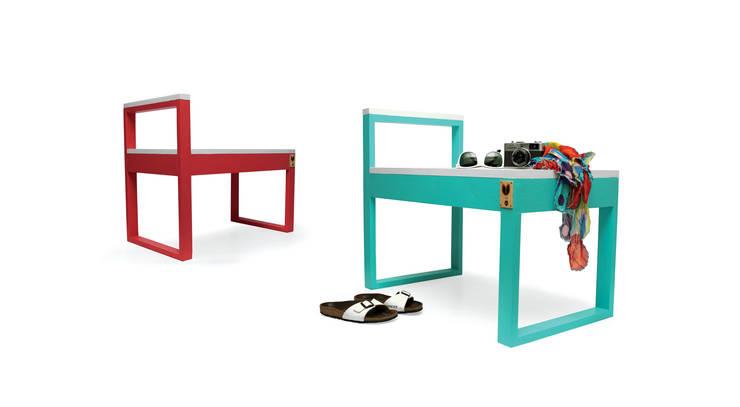 Lounge Stool - Mercado Collection: Casa  por Varas Verdes