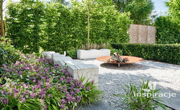 Сады в . Автор – Studio architektury krajobrazu INSPIRACJE