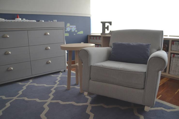 Dormitorios de bebé de estilo  por CuboB Arquitectura de Interiores