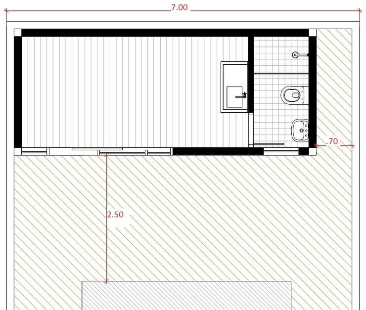 in stile  di Casa Container Marilia - Arquitetura em Container
