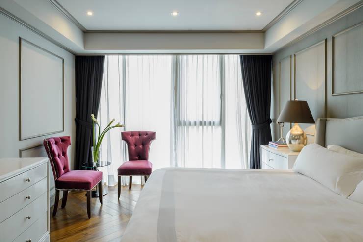 HCH Dormitorios clásicos de NIVEL TRES ARQUITECTURA Clásico