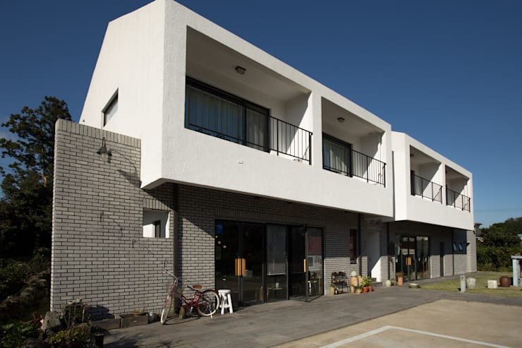 소요: 아키제주 건축사사무소의  주택,