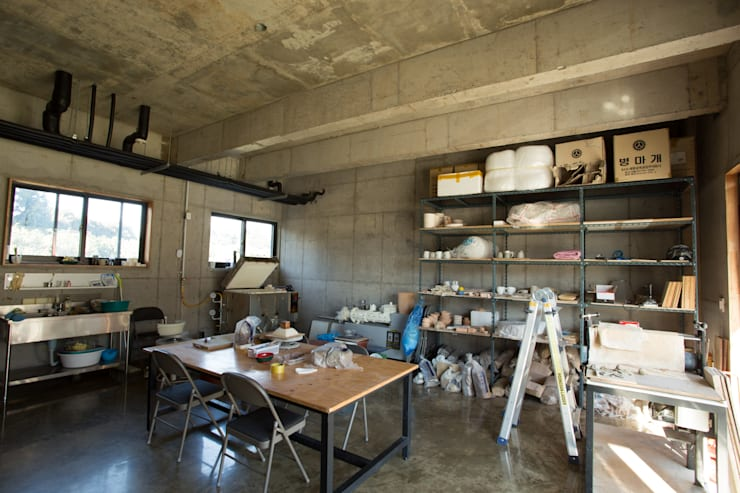 소요: 아키제주 건축사사무소의  방,