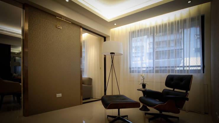 BRAVO INTERIOR DESIGN & DECO    ZEN STYLE:  書房/辦公室 by 璞碩室內裝修設計工程有限公司