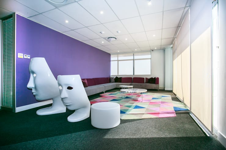 Mindshare - Sunninghill - Sandton:  Commercial Spaces by House of Gargoyle, Modern