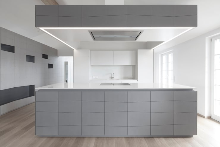 Kitchen by destilat Design Studio GmbH