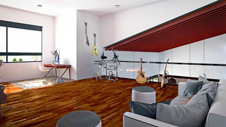 Estudio: Estudios y oficinas de estilo  por Laboratorio Mexicano de Arquitectura
