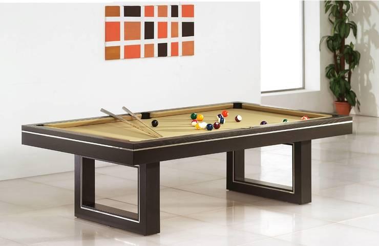 Bilhares Snooker Snooker www.intense-mobiliario.com  MONACO: Casa  por Intense mobiliário e interiores;