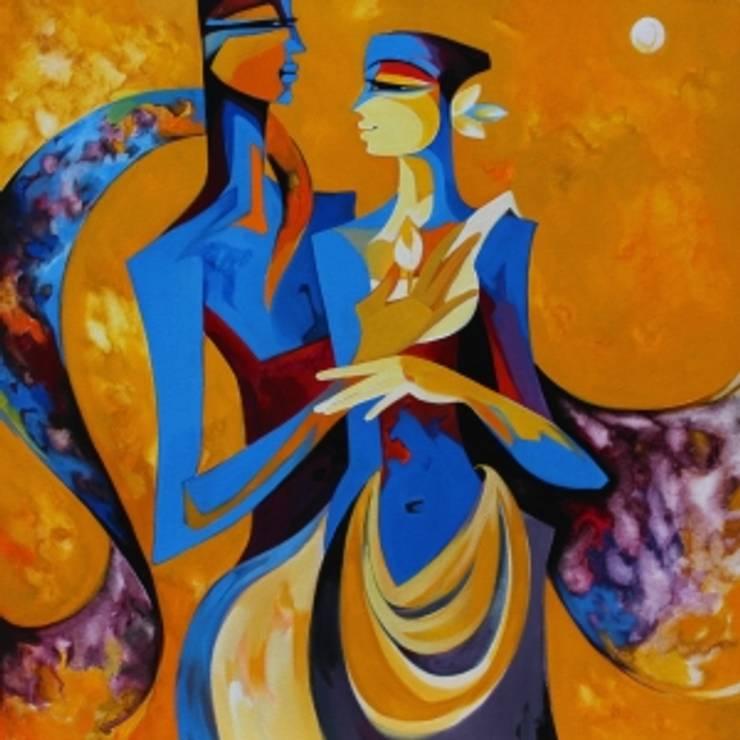 Bliss:  Artwork by Indian Art Ideas