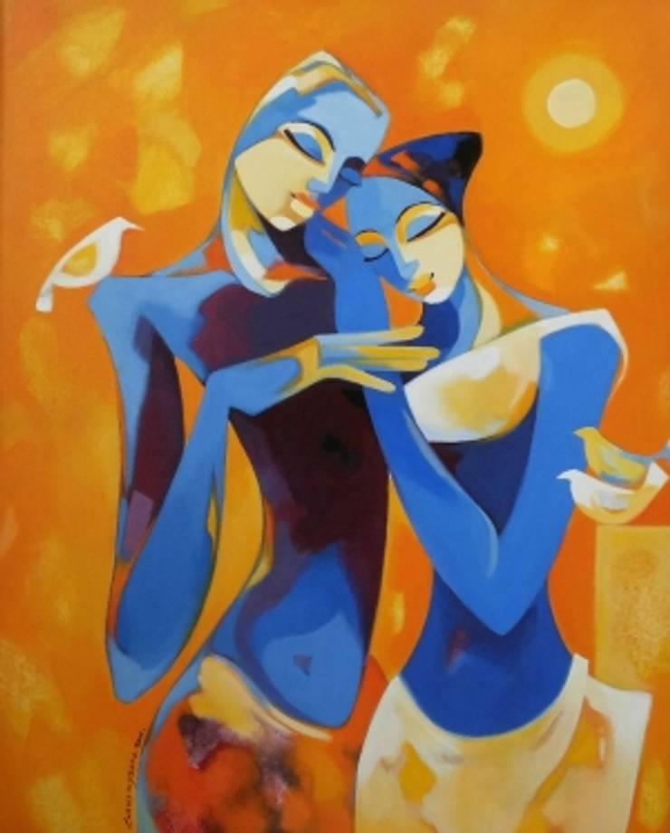 Enamored:  Artwork by Indian Art Ideas