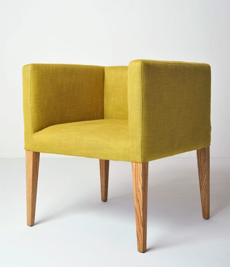 Cubo Occasional Chair:  Living room by www.mezzanineinteriors.co.za